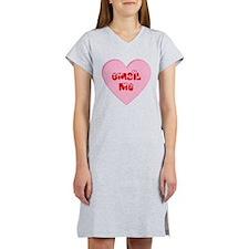 Email Me Valentine Heart Women's Nightshirt