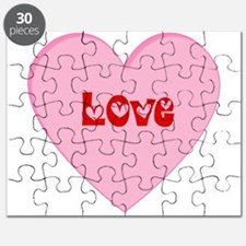 Valentines Day Love Heart Puzzle