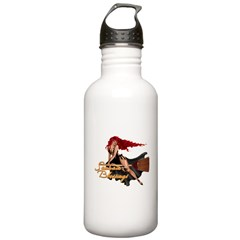 Samhain Blessings Witch Water Bottle