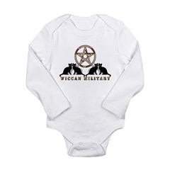 Camo Military Pentagram Long Sleeve Infant Bodysui
