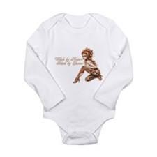 Sexy Witch by Nature Long Sleeve Infant Bodysuit