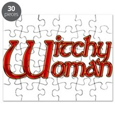 Witchy Woman Citrine Puzzle