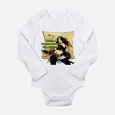 Sexy Pirate Wench Long Sleeve Infant Bodysuit