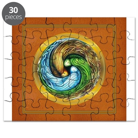 Triple Goddess Puzzle