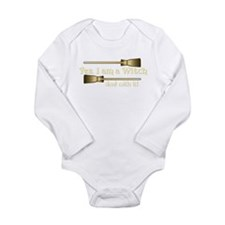Yes I am a Witch Long Sleeve Infant Bodysuit
