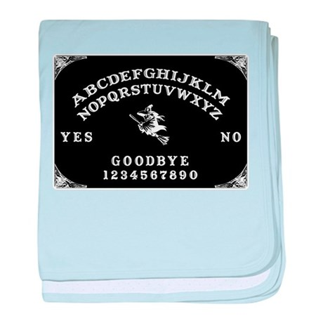 Witch Ouija Board baby blanket