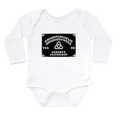 Ouija Board Long Sleeve Infant Bodysuit