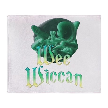 Wee Wiccan Baby Throw Blanket