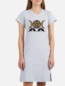 Crystal Ball Pentagram Women's Nightshirt