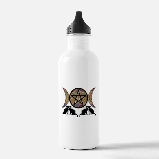 Crystal Ball Pentagram Water Bottle