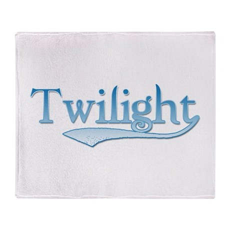 Blue Twilight Movie Throw Blanket
