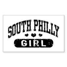 South Philly Girl Decal