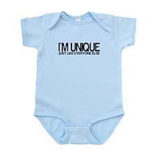 I'm Unique. Just like everyon Infant Bodysuit