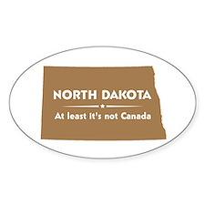 North Dakota: Not Canada Decal