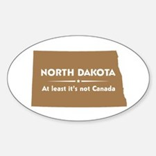 North Dakota: Not Canada Decal