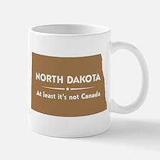 North Dakota: Not Canada Mug