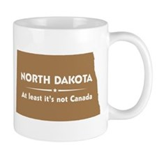 North Dakota: Not Canada Mug