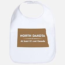 North Dakota: Not Canada Bib