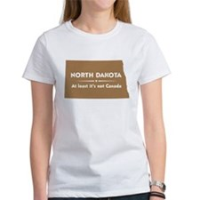North Dakota: Not Canada Tee