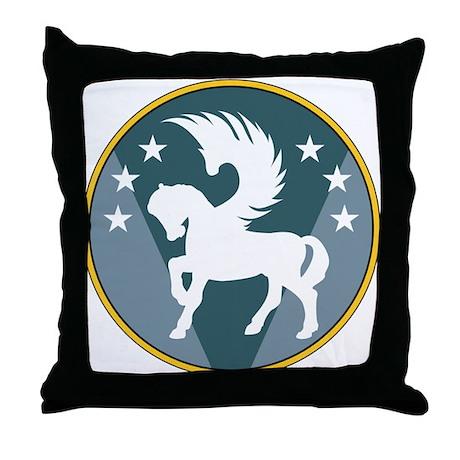 Bombardier Symbol Throw Pillow
