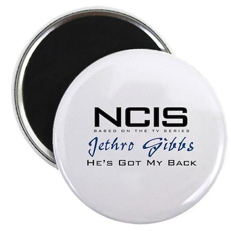 Gibbs He's Got My Back Magnet