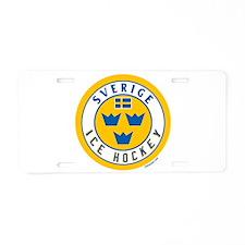 SE Sweden/Sverige Hockey Aluminum License Plate