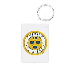 SE Sweden/Sverige Hockey Keychains