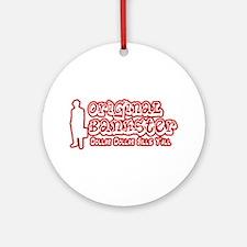 Original Bankster Ornament (Round)