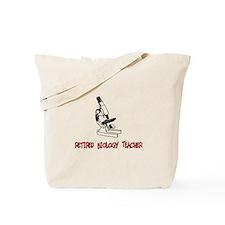 Retired Teacher IV Tote Bag