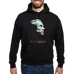 Ron Paul Revolution Hoodie (dark)