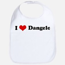 I Love Dangelo Bib