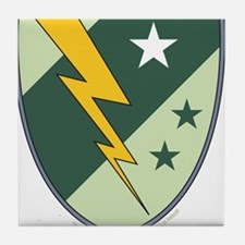 Lightning Lass Symbol Tile Coaster