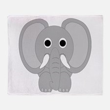 Elephant Design Throw Blanket