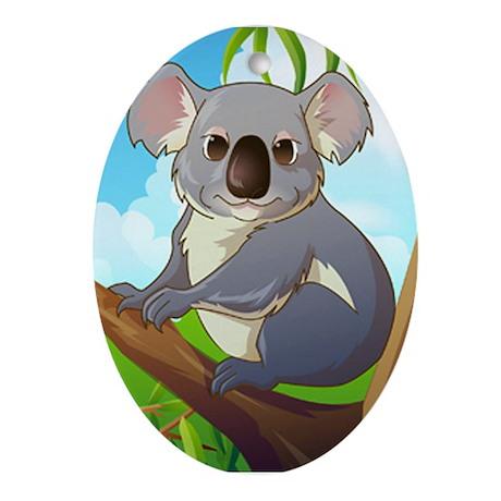 AW! Adopt A Koala! Ornament (Oval)