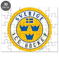 SE Sweden/Sverige Hockey Puzzle