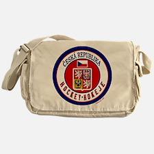 CZ Czech Rep Ice Hockey Messenger Bag