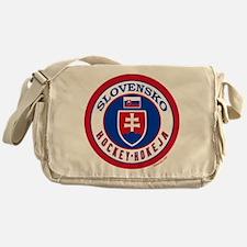 SK Slovakia/Slovensko Hockey Messenger Bag
