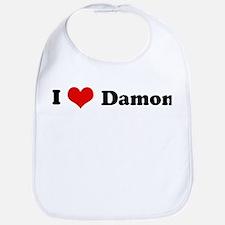 I Love Damon Bib