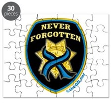 Thin Blue Line NeverForgotten Puzzle