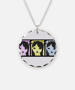 Cute Airbrush art Necklace