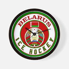 BY Belarus/Bielarus Ice Hocke Wall Clock