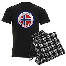 NO Norway/Norge Ice Hockey Pajamas