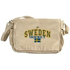 Sweden Hockey/Sverige Ishocke Messenger Bag