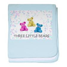 three little bears baby blanket