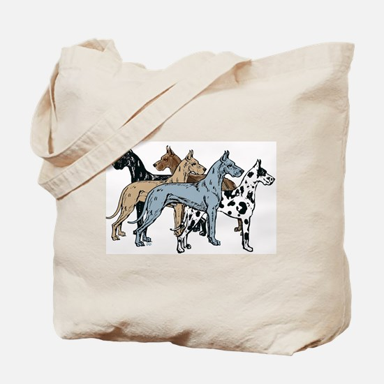 Unique Great dane mom Tote Bag