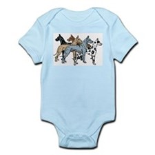 Cute Great dane mom Infant Bodysuit