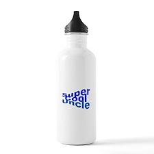 Super Cool Uncle Water Bottle