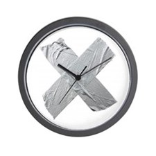 Duct Tape Wall Clock