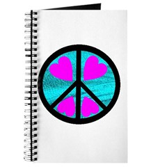 Peace Symbol with Heart™ Journal