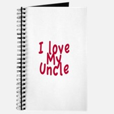 I Love My Uncle Journal